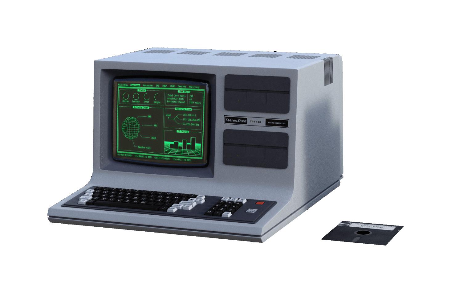 Totally super modern computer running ProVision 85