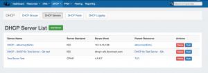 7.0.0 DHCP Servers List