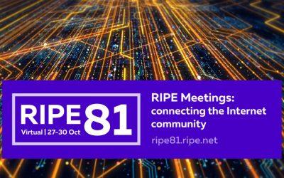 Virtual #RIPE81 Conference Recap