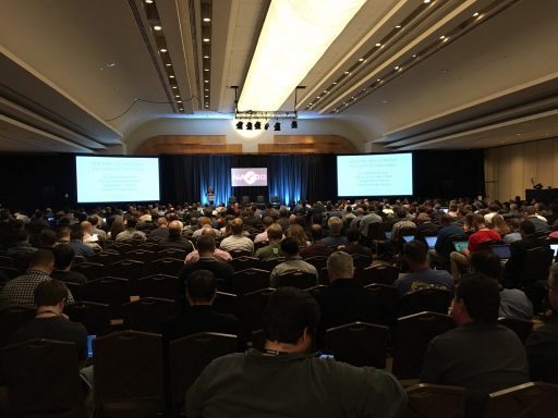 the scene at NANOG69