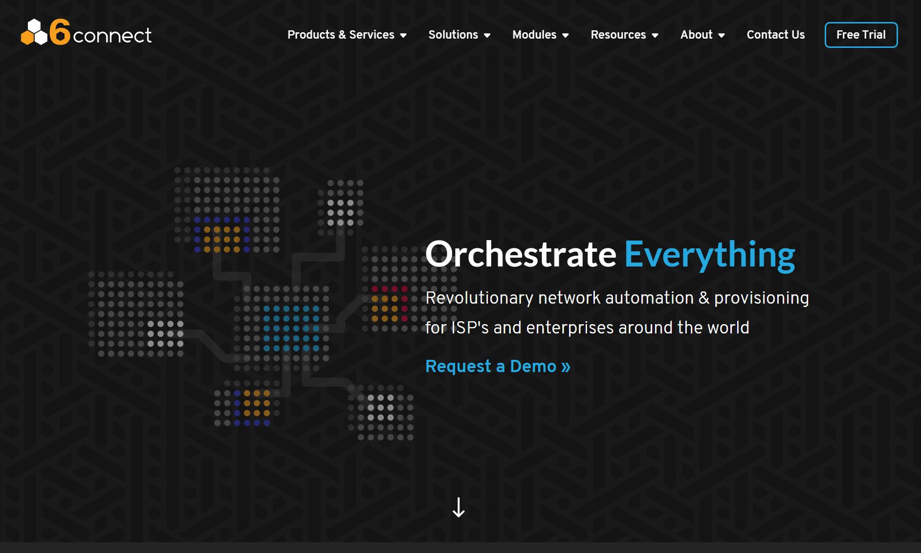 6connect website screenshot