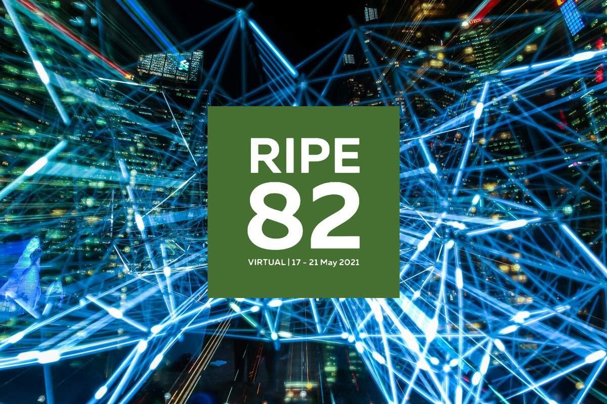 RIPE 82 May 2021 Conference Header